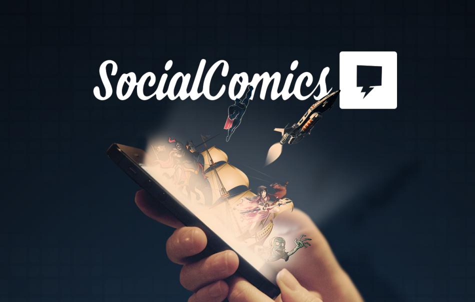 Compatível com tablets e smartphones, o app irá promover o contato entre leitores e editoras. (Foto: Social Comics)