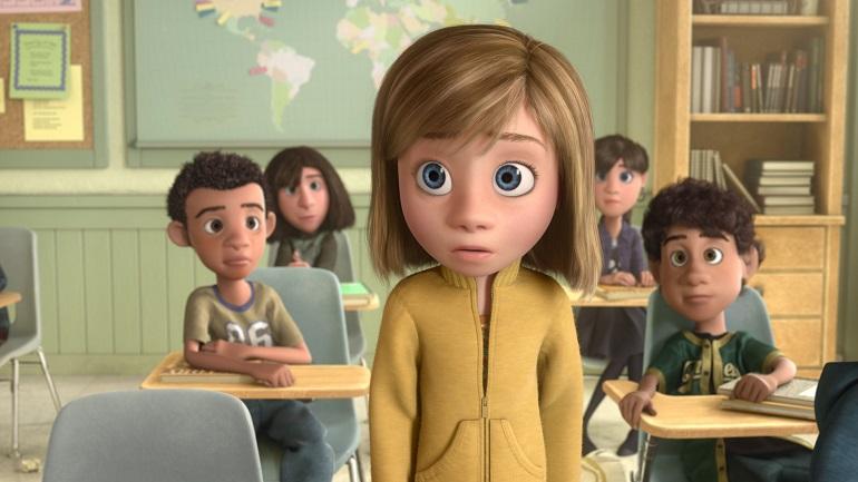 No filme, o público pode acompanhar o que se passa na cabeça garotinha Riley. (Foto: Disney)