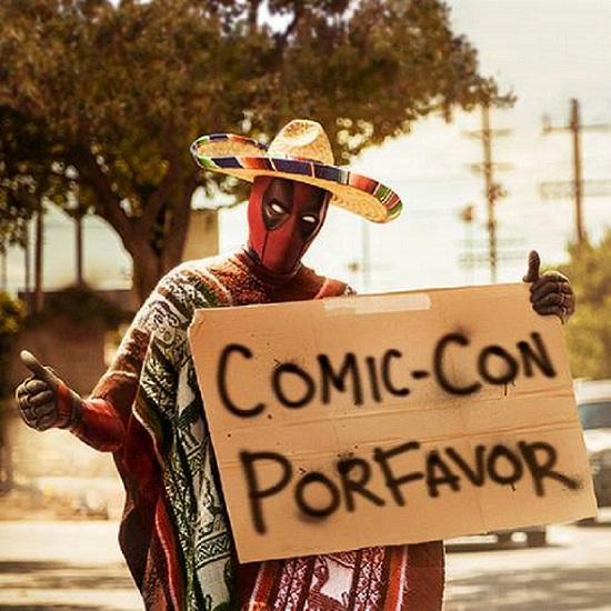 Se a ideia era conseguir destaque na San Diego Comic-Con, Deadpool conseguiu.