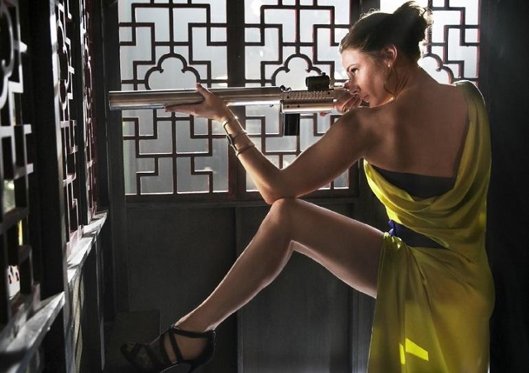 Ilsa Faust (Ferguson) é uma agente tão letal quanto Ethan Hunt (Cruise). (Foto: Paramount Pictures)
