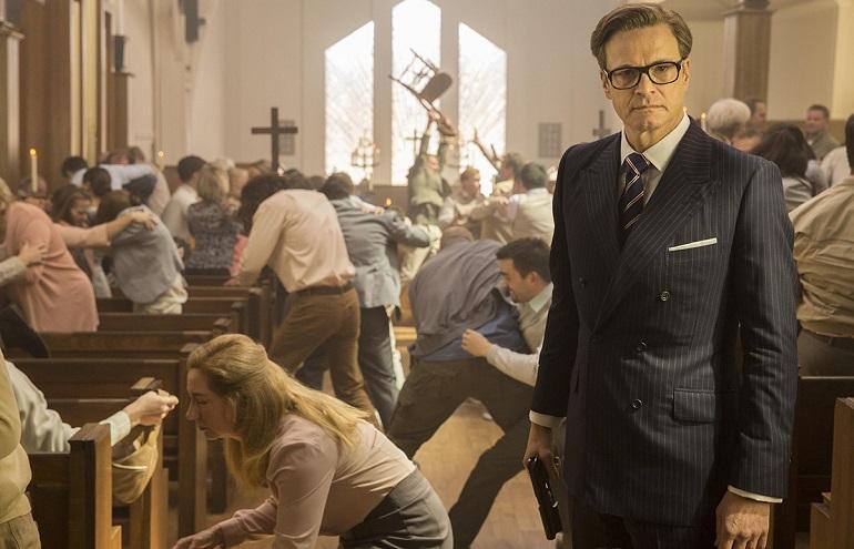 Poucas coisas foram mais insanas e brutais do que essa cena na igreja!