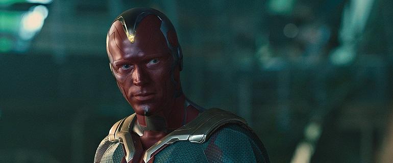 A introdução do Visão deuu início a uma nova era no Universo Cinematográfico Marvel. (Foto: Marvel)