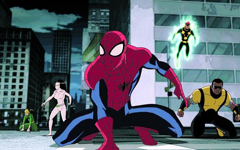 ultimate homem-aranha time