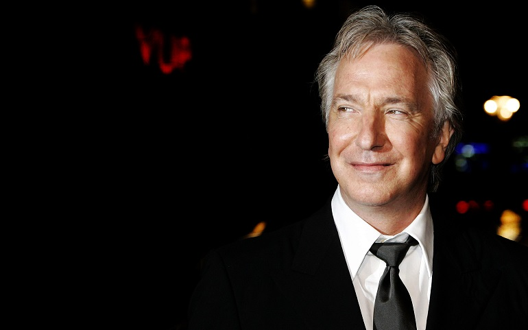 Alan Rickman Professor Severo Snape Harry Potter