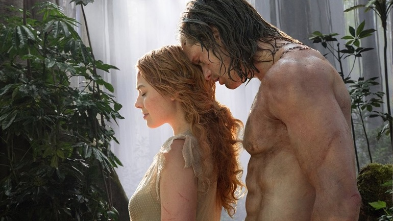Alexander Skarsgård é Tarzan e Margot Robbie interpreta Jane.