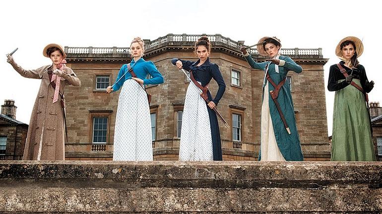 Que tal esperar uma versão mais sangrenta da obra de Jane Austen?