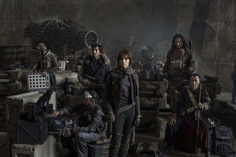 Os eventos de Rogue One estão situados antes dos eventos de Star Wars: Uma Nova Esperança. (Foto: Lucasfilm)