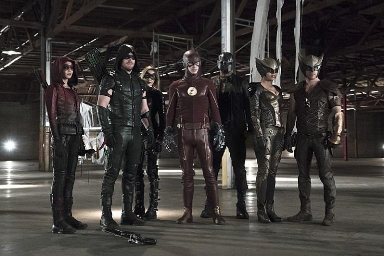 Crossover de Arrow, The Flash e DC's Legends of Tomorrow