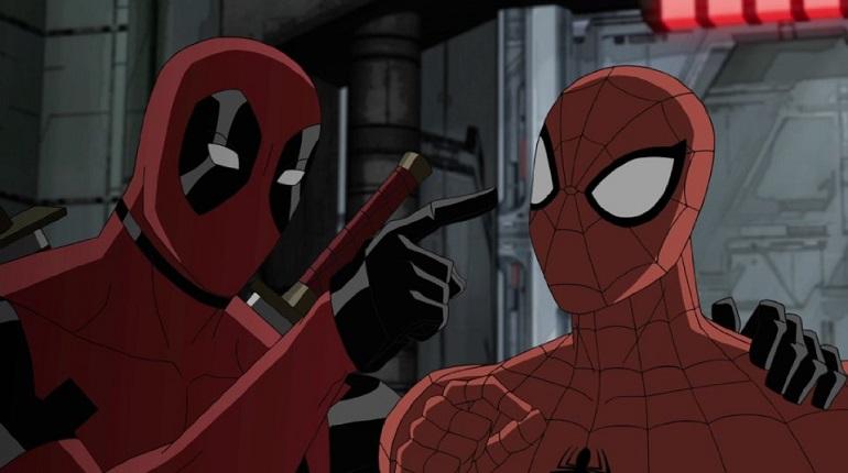 Deadpool Ultimate Deadpool Ultimate Spider-Man