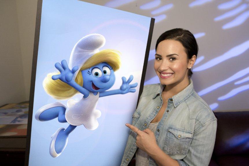 Os Smurfs a Vila Perdida Demi Lovato Smurfette