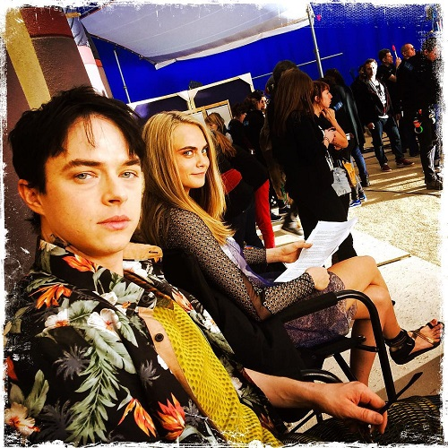 Valerian and the City of a Thousand Planets elenco Dane DeHaan e Cara Delevingne