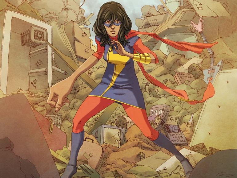 Dia Internacional da Mulher - Ms. Marvel