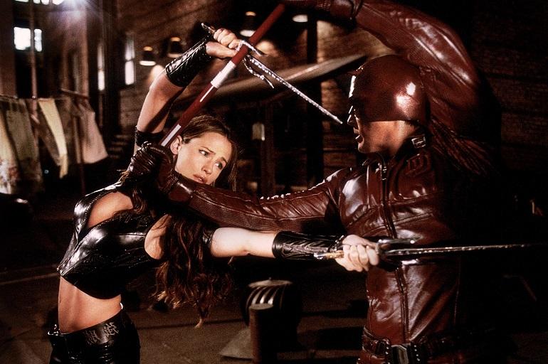 Elektra vs Demolidor