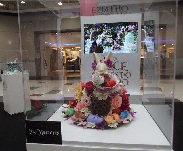 Exposição Alice Através do Espelho no Shopping Metrô Boulevard Tatuapé (1)
