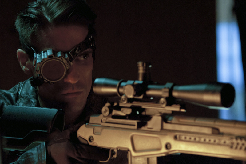 "Arrow -- ""Lone Gunman"" -- Image AR103b_0320b. Pictured: Michael Rowe as Deadshot -- Photo: Michael Courtney/The CW -- ©2012 The CW Network. All Rights Reserved."