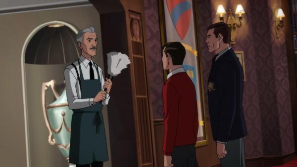 É claro que Alfred marca presença em Batman: O Retorno da Dupla Dinâmica! (Foto: DC Comics)