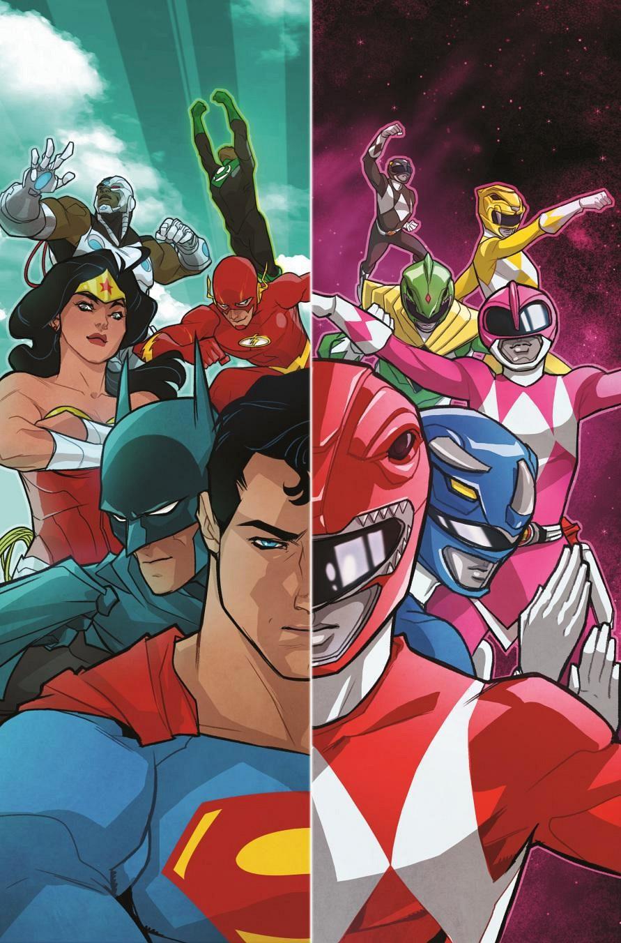 dc-comics-boom-studios-liga-da-justica-power-rangers-crossover-poster