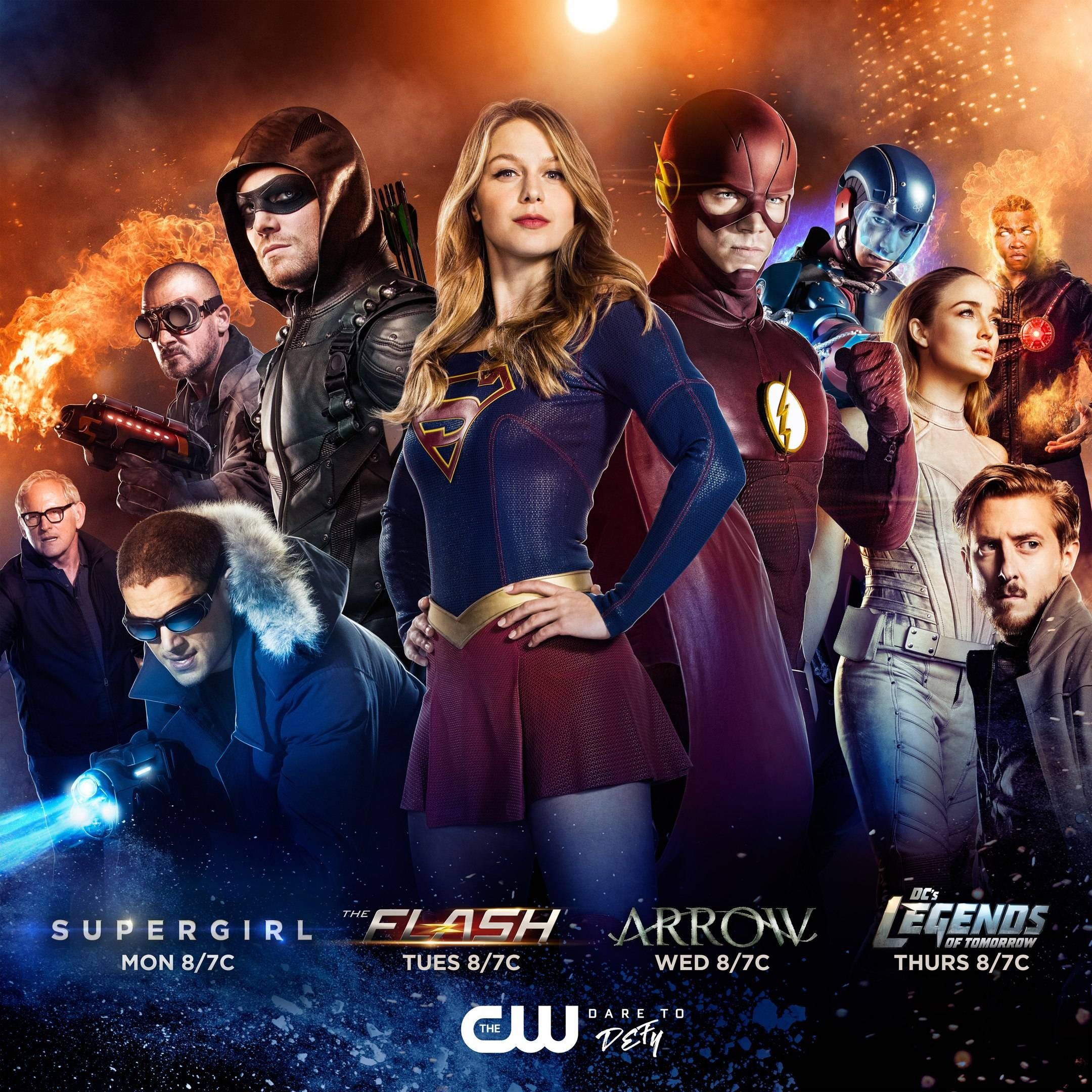 poster-crossover-arrow-the-flash-supergirl-dc-legends-of-tomorrow-the-cw