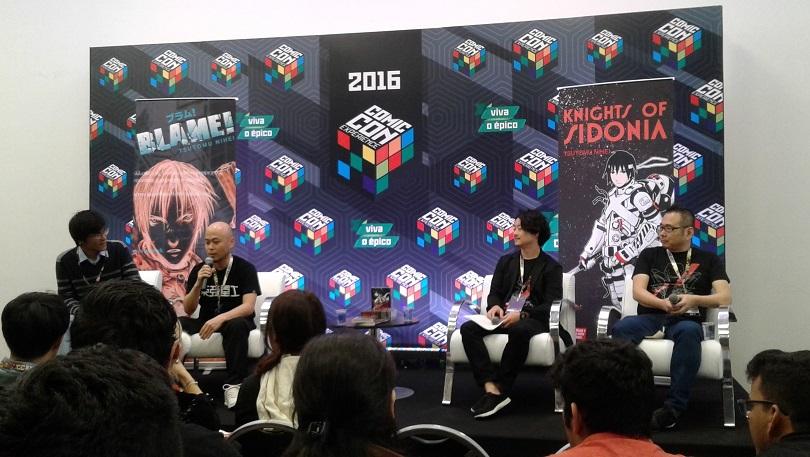 ccxp-2016-editora-jbc-tsutomu-nihei-blame-knights-of-sidonia-foto