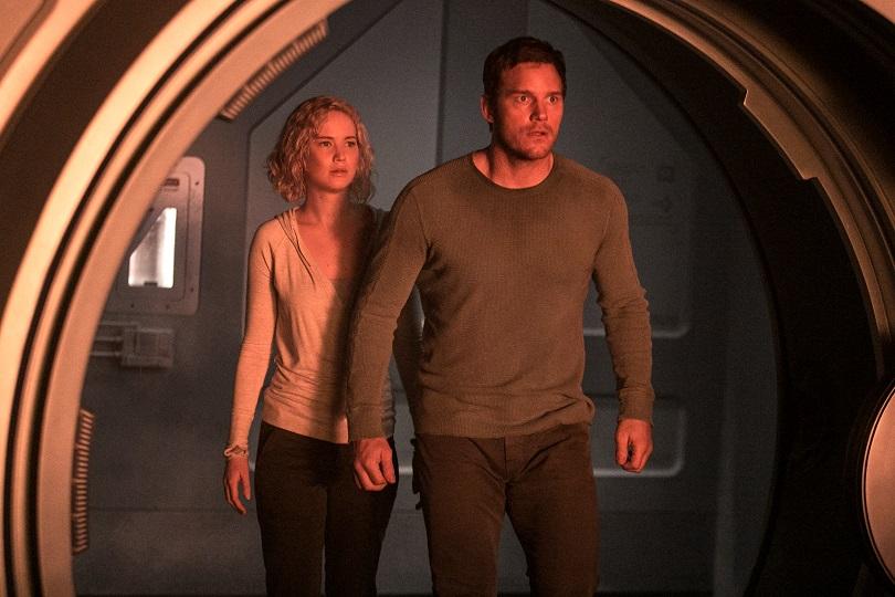 Há algo errado com a Starship Avalon! E Jim e Aurora precisam consertar a nave antes que todos morram. (Foto: Sony)