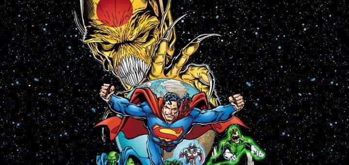 Superman e companhia precisam evitar que os Domínios causem a extinção dos meta-humanos da Terra. (Foto: DC Comics)