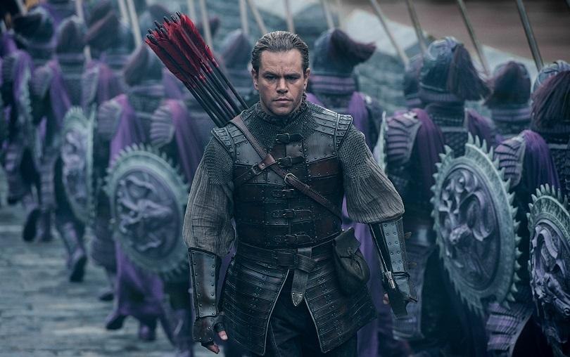 Com Matt Damon, o filme contará a história por trás da construção da Grande Muralha da China. (Foto: Universal)