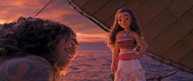 A independente Moana embarca numa jornada para salvar sua vila da escuridão. (Foto: Disney)
