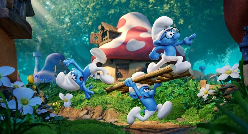 Enfim, os Smurfs ganharão um filme totalmente animado! (Foto: Sony)