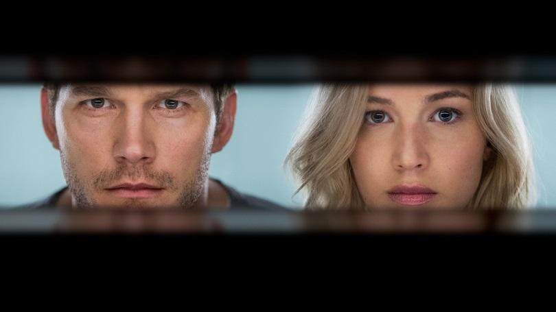 Com Chris Pratt e Jennifer Lawrence, Passageiros traz ficção científica e romance. (Foto: Sony)