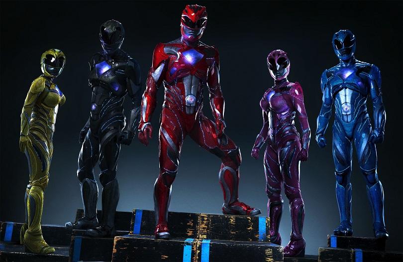 É hora de morfar com os novos Power Rangers! (Foto: Paris Filmes)