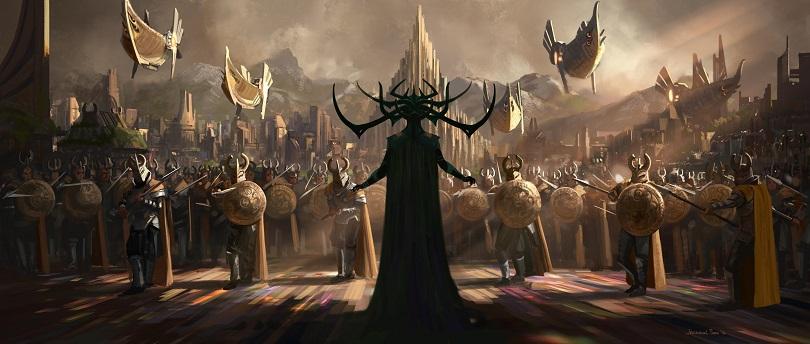 Thor e Hulk se juntam no terceiro filme do Deus do Trovão. (Foto: Marvel)