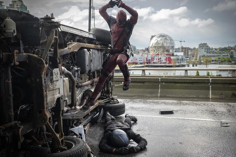 É, Deadpool, você quebrou tudo em 2016. Inclusive cabeças... (Foto: 20th Century Fox Film)