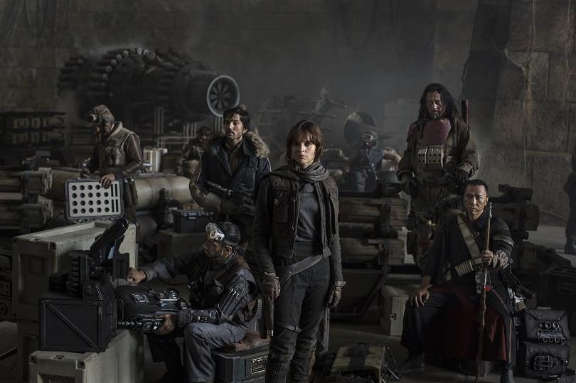 Jyn Ersolidera a Aliança Rebelde contra o Darth Vader e a Estrela da Morte. (Foto: Jonathan Olley/Lucasfilm)