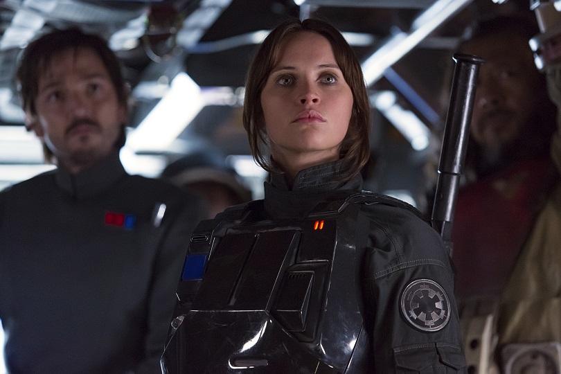 Em Rogue One, Jyn Erso continua reforçando o protagonismo em Star Wars. (Foto: Lucasfilm)