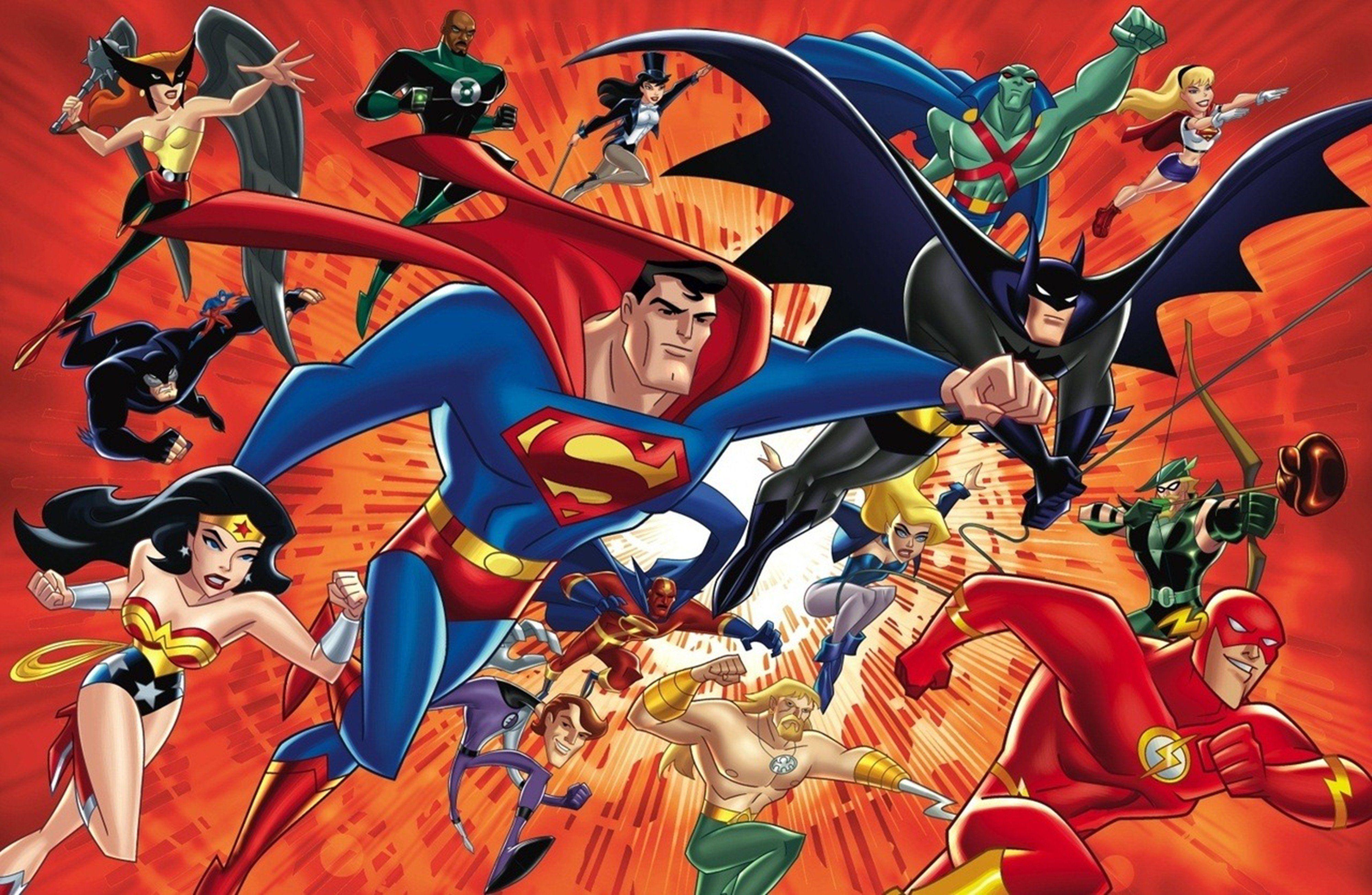 "Contra supervilões, use o grito de guerra ""Justice League Action""! (Foto: DC Comics)"