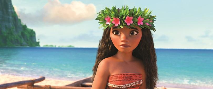 Moana recusa a posição de princesa para ser uma heroína e exploradora do mar! (Foto: Disney)