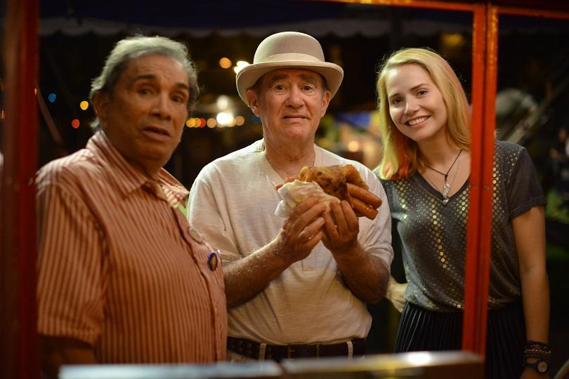 Reforçados por Letícia Colin, Didi e Dedé estão de volta em Os Saltimbancos Trapalhões: Rumo a Hollywood! (Foto: Downtown Filmes)
