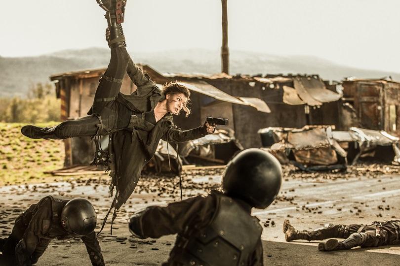Resident Evil 6: O Capítulo Final exibe cenas de ação mais elaboradas. (Foto: Sony Pictures)