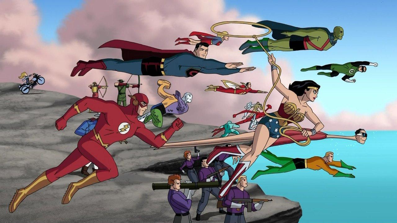A animação Liga da Justiça: A Nova Fronteira preserva os traços das HQs publicadas em 2004. (Foto: DC Comics)