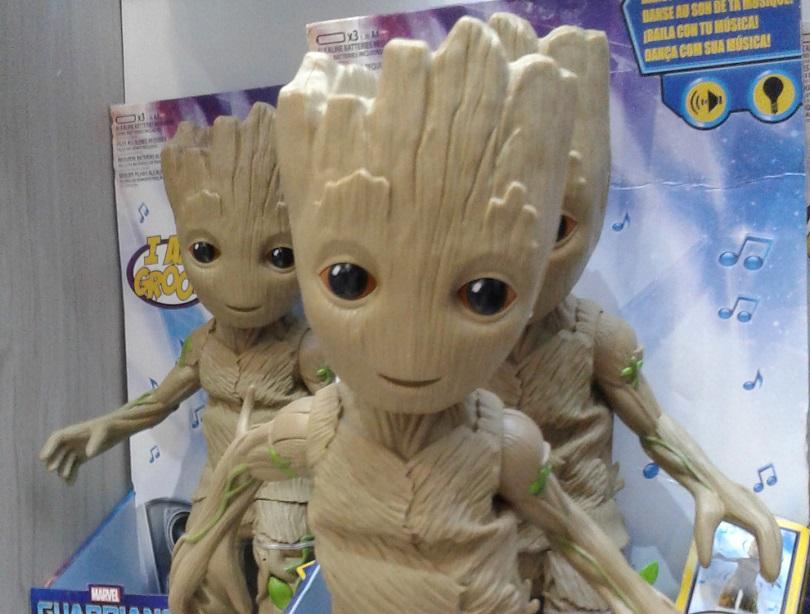 Eu sou Groot! E eu danço! (Foto: Henrique Almeida)