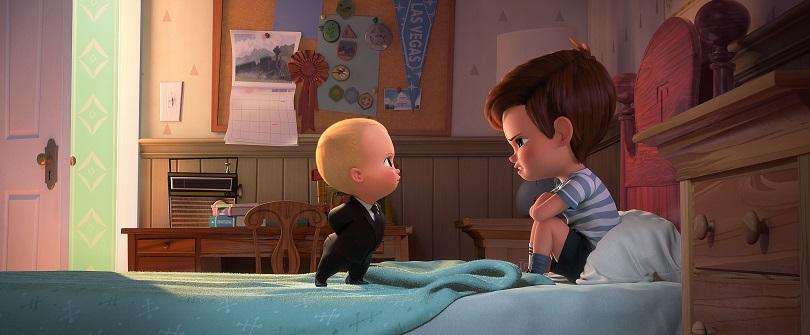 O Poderoso Chefinho e Tim precisam superar suas diferenças para descobrir o que a Puppy Co. está tramando. (Foto: DreamWorks Animation)
