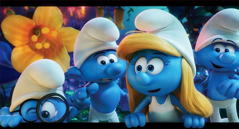 Os Smurfs chegaram em versão animada e em 3D! (Foto: Sony Pictures)
