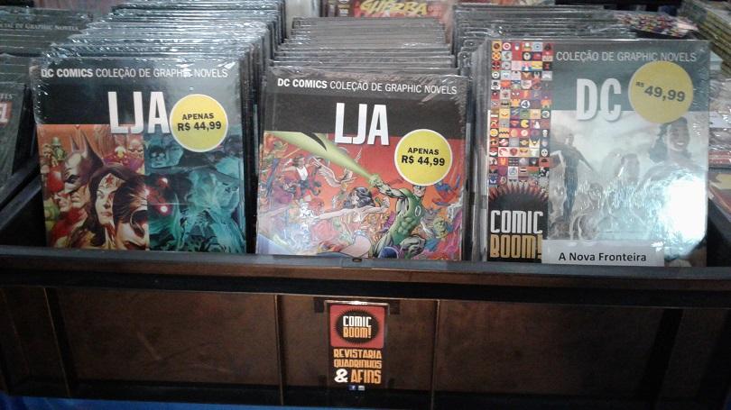 Situada no Tatuapé, a Comic Boom leva materiais novos ao FGDQ 2017. (Foto: Henrique Almeida)