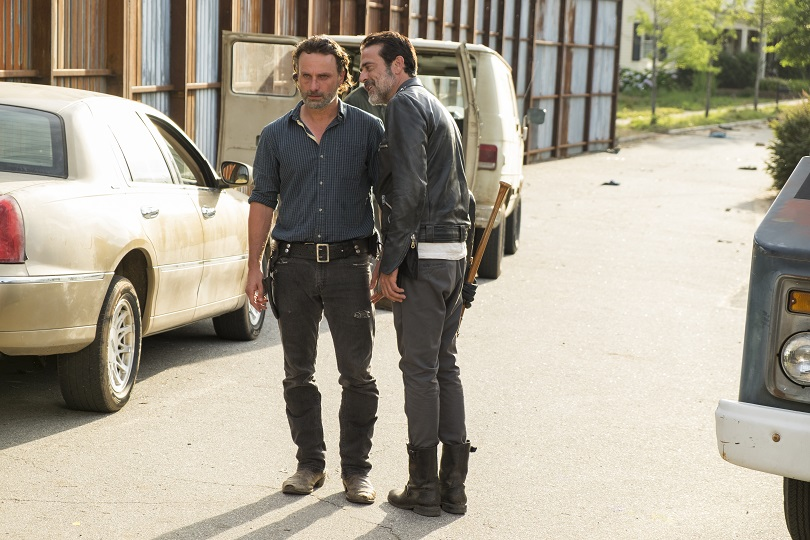 Qual será a resposta de Rick contra o reinado de terror de Negan? (Foto: Gene Page/AMC)