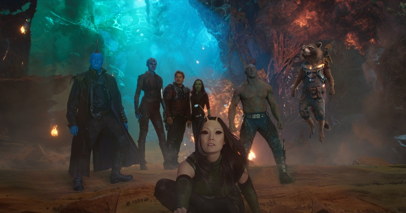 Com Yondu, Nebulosa e Mantis, os Guardiões da Galáxia enfrentam um planeta inteiro. (Foto: Marvel Studios)