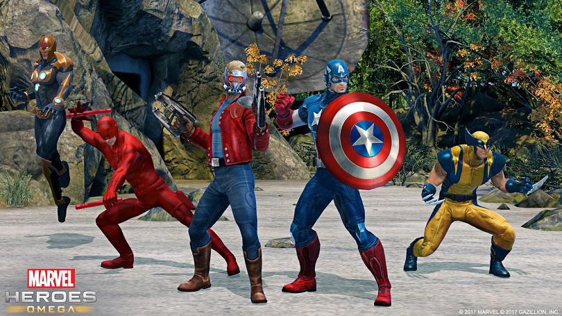 Vários grupos de heróis estarão representados no game. (Foto: Marvel)