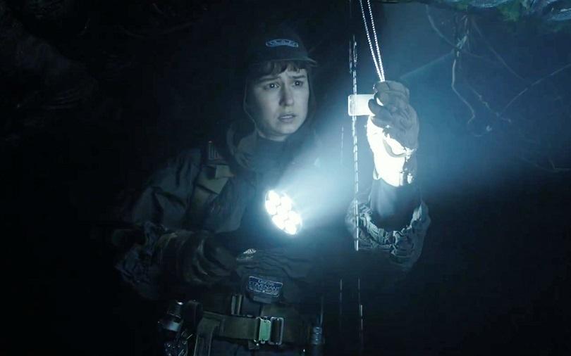 Daniels descobre estar no mesmo planeta em que os tripulantes de Prometheus pereceram. (Foto: 20th Century Fox)