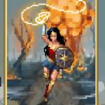 Origem da Guerreira: Conheça o game da Mulher-Maravilha em 8 bits