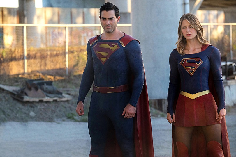 Em Nevertheless, She Persisted, Supergirl derrota Superman num confronto épico. (Foto: Robert Falconer/The CW)
