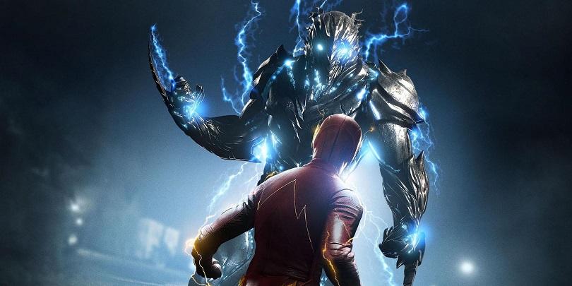 Savitar é um remanescente do tempo (uma duplicata de Barry Allen), que se tornou maligno por não contar com o afeto de ninguém. (Foto: The CW)